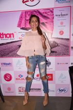 Anusha Dandekar at Pinkathon press meet on 22nd Nov 2016 (60)_58353ada50e19.JPG