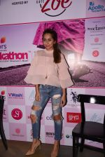 Anusha Dandekar at Pinkathon press meet on 22nd Nov 2016
