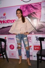 Anusha Dandekar at Pinkathon press meet on 22nd Nov 2016 (74)_58353ae2660f4.JPG