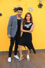 Sana Khan, Gurmeet Choudhary at Wajah Tum Ho film promotions in Mumbai on 22nd Nov 2016 (76)_58353c804c493.JPG