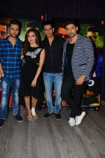 Sana Khan, Gurmeet Choudhary, Sharman Joshi, Vishal Pandya at Wajah Tum Ho film promotions in Mumbai on 22nd Nov 2016 (6)_58353bcbc189c.JPG