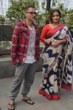 Vidya Balan, Sujoy Ghosh in Hyderabad for Kahaani 2 promotions on 23rd Nov 2016 (13)_5836bec58b4fe.jpg