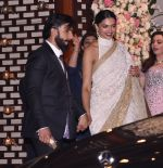 Deepika Padukone, Ranveer Singh at the Ambani_s wedding party of their niece, Isheta Salgaoncar on 24th Nov 2016 (99)_58384f4431f02.JPG