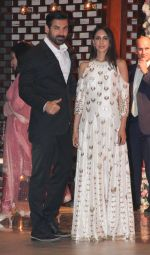John Abraham at the Ambani_s wedding party of their niece, Isheta Salgaoncar on 24th Nov 2016  (86)_58384e5267d6e.JPG