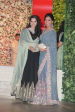 Sania Mirza, Lara Dutta at the Ambani_s wedding party of their niece, Isheta Salgaoncar on 24th Nov 2016  (91)_58384ee01ec23.JPG