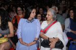 Shabana Azmi, Waheeda Rehman at the launch of Anjali Chabbria_s book in Mumbai on 24th Nov 2016 (195)_58384a537b072.JPG