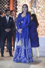 Sonakshi Sinha at the Ambani_s wedding party of their niece, Isheta Salgaoncar on 24th Nov 2016  (22)_58384f0bd882b.JPG