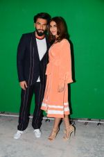 Vaani Kapoor, Ranveer Singh at Befikre promotions in Mumbai on 25th Nov 2016 (4)_58396a6780bfd.JPG