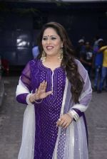 Geeta Kapoor on the sets of Super Dancer on 27th Nov 2016 (12)_583bdcfb6be65.JPG