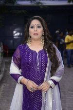 Geeta Kapoor on the sets of Super Dancer on 27th Nov 2016 (17)_583bdcfee6771.JPG
