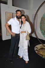 mana and suneil shetty at Satish Gupta_s art exhibition by Gallery Art N Soul on 29th Nov 2016 (7)_583e765e1d6ef.JPG