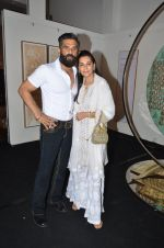 mana and suneil shetty at Satish Gupta_s art exhibition by Gallery Art N Soul on 29th Nov 2016 (6)_583e765d790e5.JPG