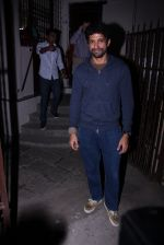 Farhan Akhtar at Recording Studio on 30th Nov 2016 (6)_583fca0b51324.JPG