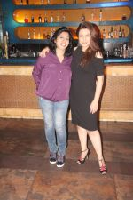 Director Jyoti Kapur Das and Tisca Chopra promote their short film Chutney at Bora Bora, Andheri West 2_584107a202e10.JPG