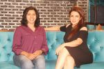 Director Jyoti Kapur Das and Tisca Chopra promote their short film Chutney at Bora Bora, Andheri West_584107a0d5475.JPG
