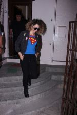Kangana Ranaut snapped post rangoon dubbing on 1st Dec 2016 (10)_584113d1c97e7.JPG