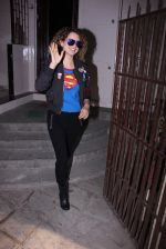Kangana Ranaut snapped post rangoon dubbing on 1st Dec 2016 (8)_584113cf409ba.JPG