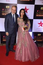 Anupam Kher at 22nd Star Screen Awards 2016 on 4th Dec 2016 (32)_584538f58e868.JPG