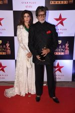 Shweta Nanda, Amitabh Bachchan at 22nd Star Screen Awards 2016 on 4th Dec 2016 (168)_5845399cc84a2.JPG