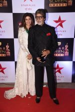 Shweta Nanda, Amitabh Bachchan at 22nd Star Screen Awards 2016 on 4th Dec 2016 (171)_5845399e93fb7.JPG