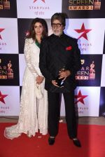Shweta Nanda, Amitabh Bachchan at 22nd Star Screen Awards 2016 on 4th Dec 2016 (173)_584539a051965.JPG
