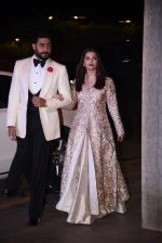 Aishwarya Rai Bachchan, Abhishek Bachchan at Manish Malhotra�s 50th birthday bash hosted by Karan Johar on 5th Dec 2016 (879)_584682d08e231.JPG