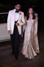 Aishwarya Rai Bachchan, Abhishek Bachchan at Manish Malhotra�s 50th birthday bash hosted by Karan Johar on 5th Dec 2016 (881)_584682d13c183.JPG
