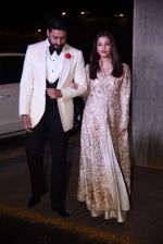 Aishwarya Rai Bachchan, Abhishek Bachchan at Manish Malhotra�s 50th birthday bash hosted by Karan Johar on 5th Dec 2016 (883)_584682d1df2ac.JPG