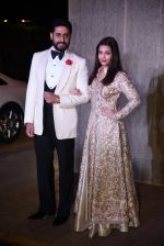 Aishwarya Rai Bachchan, Abhishek Bachchan at Manish Malhotra�s 50th birthday bash hosted by Karan Johar on 5th Dec 2016 (887)_584682d34aed8.JPG