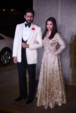 Aishwarya Rai Bachchan, Abhishek Bachchan at Manish Malhotra�s 50th birthday bash hosted by Karan Johar on 5th Dec 2016 (877)_584682cfcfe61.JPG