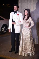 Aishwarya Rai Bachchan, Abhishek Bachchan at Manish Malhotra�s 50th birthday bash hosted by Karan Johar on 5th Dec 2016 (885)_584682d28e471.JPG