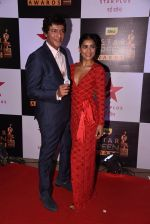 Chunky Pandey, Pallavi Sharda at 22nd Star Screen Awards 2016 on 4th Dec 2016 (360)_58465d1ac03fe.JPG