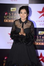 Gauhar Khan at 22nd Star Screen Awards 2016 on 4th Dec 2016 (189)_58465c5fc4ace.JPG
