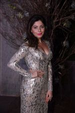 Kanika Kapoor at Manish Malhotra�s 50th birthday bash hosted by Karan Johar on 5th Dec 2016 (898)_584684185a385.JPG