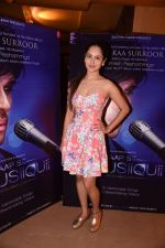 Pooja Banerjee at the launch of Himesh Reshammiya & Lulia Vantur�s album Aap Se Mausiiquii on 5th Dec 2016 (103)_5846695fcc562.jpg