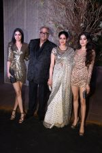 Sridevi, Boney Kapoor, Jhanvi Kapoor, Khushi Kapoor at Manish Malhotra�s 50th birthday bash hosted by Karan Johar on 5th Dec 2016 (695)_5846873c0029c.JPG