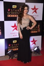 Zareen Khan at 22nd Star Screen Awards 2016 on 4th Dec 2016 (849)_58465f52a77b1.JPG