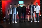 Karan Johar, Shekhar Ravjiani, Badshah,Shalmali Kholgade at Dil Hai Hindustani show launch on 6th Dec 2016 (42)_5847b3a6ab83c.JPG
