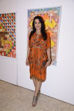 Pooja Bedi at the late John Fernandes Masterstrokes art show on 6th Dec 2016 (16)_5847bb5ad50b9.JPG
