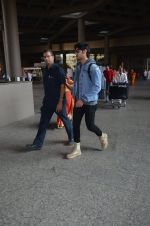 Ahan Shetty_s at airport on 7th Dec 2016 (8)_584903cf0f866.JPG