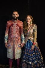 Yuvraj Singh and Hazel Keech Wedding Reception on 7th Dec 2016 (3)_58490e5b1eb19.JPG
