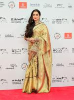 Rekha at DIFF 2016 opening Night Red Carpet on 8th Dec 2016 (75)_584a54ecd9e23.JPG