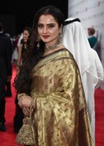 Rekha at DIFF 2016 opening Night Red Carpet on 8th Dec 2016