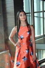 Pooja Hegde at Lakme fashion week model auditions on 14th Dec 2016 (15)_58525bbb5cf26.JPG