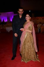Mahi Vij, Jay Bhanushali at Photographer Munna S wedding reception on 18th Dec 2016 (217)_5857925cae6d0.JPG