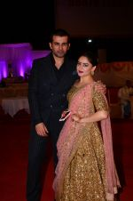 Mahi Vij, Jay Bhanushali at Photographer Munna S wedding reception on 18th Dec 2016 (221)_58579273dbbf5.JPG