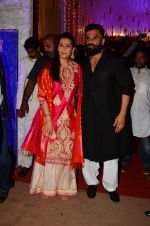 Sunil Shetty, Mana Shetty at Photographer Munna S wedding reception on 18th Dec 2016 (129)_585792b07aff3.JPG
