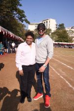 Johnny Lever, Manish Paul at Jamnabai school sports meet for special children on 19th Dec 2016