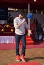 Manish Paul at Jamnabai school sports meet for special children on 19th Dec 2016