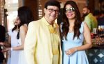 Sachin Pilgaonkar with Renu Namboodiri (Madhur Bhandarkar_s wife)  at Harvey India_s Christmas Brunch hosted by Joe Rajan_585a1cb448439.JPG